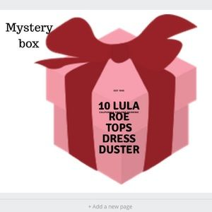 10 pieces Lula Roe mystery box size and style
